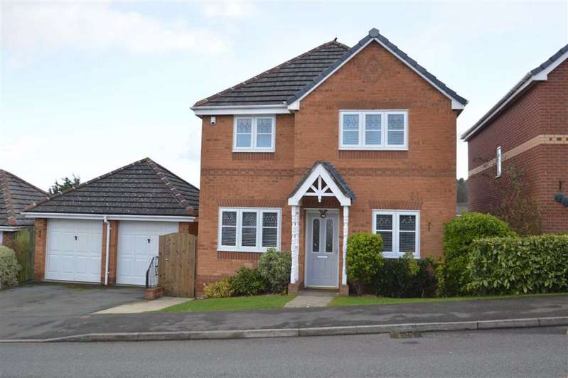 5 Bedrooms Detached House for sale in Hillsdown Drive, Connahs Quay, Flintshire