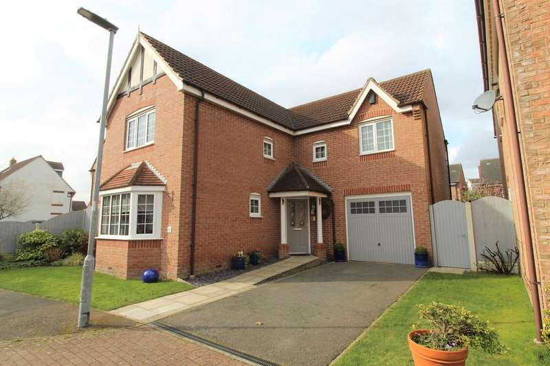 4 Bedrooms Detached House for sale in Whitehouse Way, Epworth, Doncaster, Lincolnshire, DN9