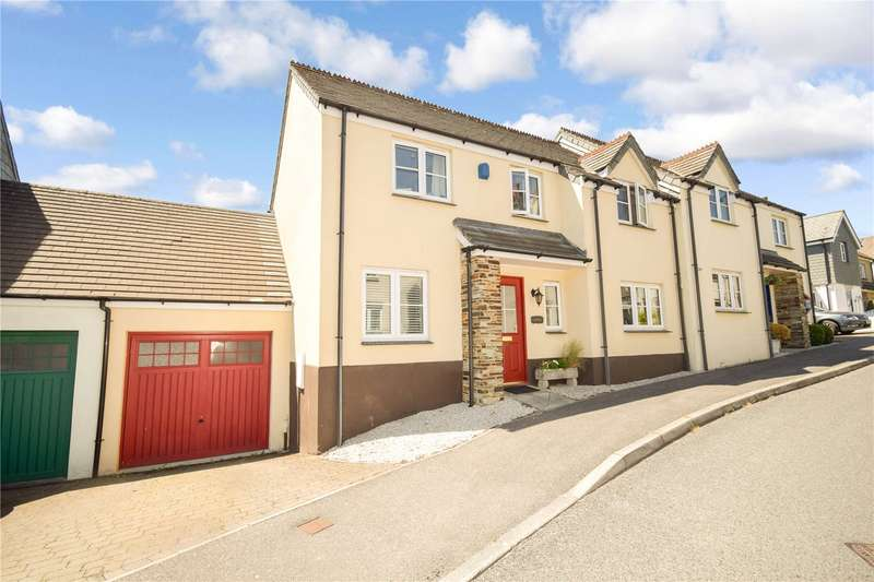 4 Bedrooms Semi Detached House for sale in Beechwood Drive, Camelford, PL32