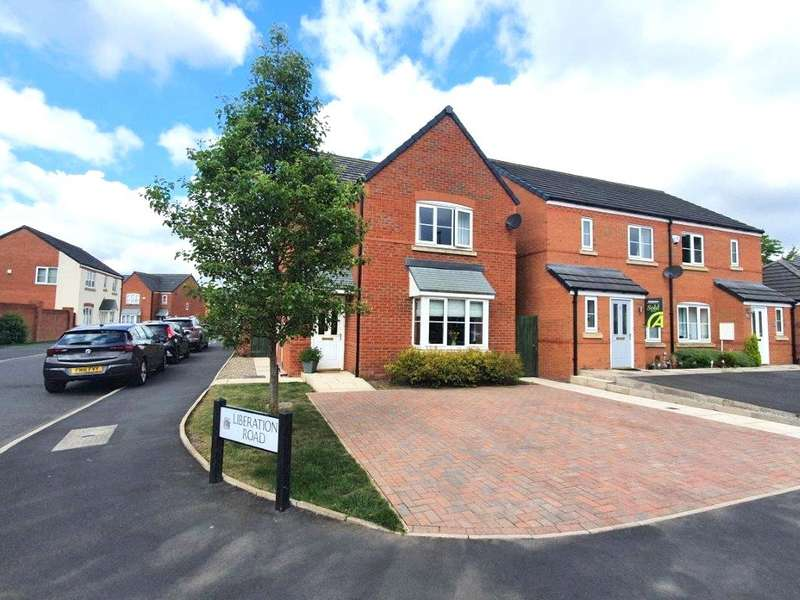 3 Bedrooms Detached House for sale in Liberation Road, Newton-le-Willows, Merseyside, WA12
