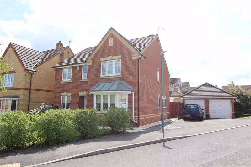 4 Bedrooms Detached House for sale in Applin Green, Emersons Green, Bristol