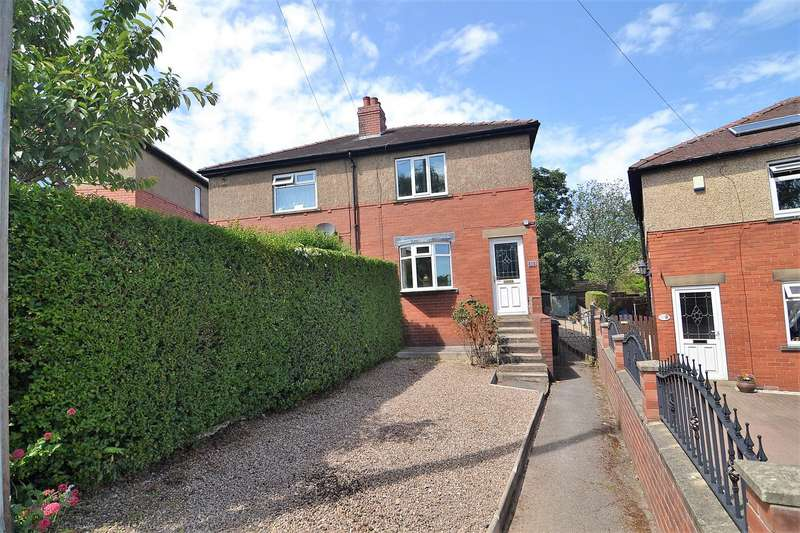 2 Bedrooms Semi Detached House for sale in The Oval, Liversedge