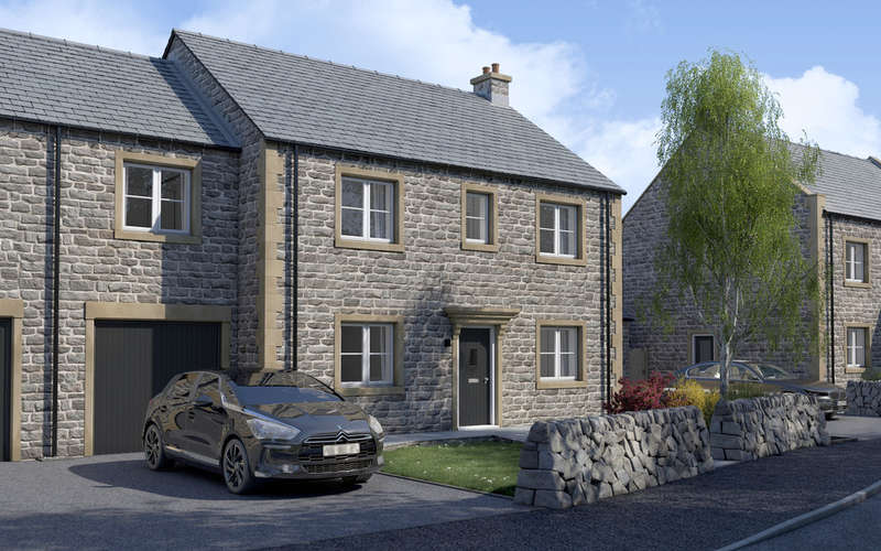 5 Bedrooms Semi Detached House for sale in The Cresswell, Bradwell Springs, Hope Valley, Peak District