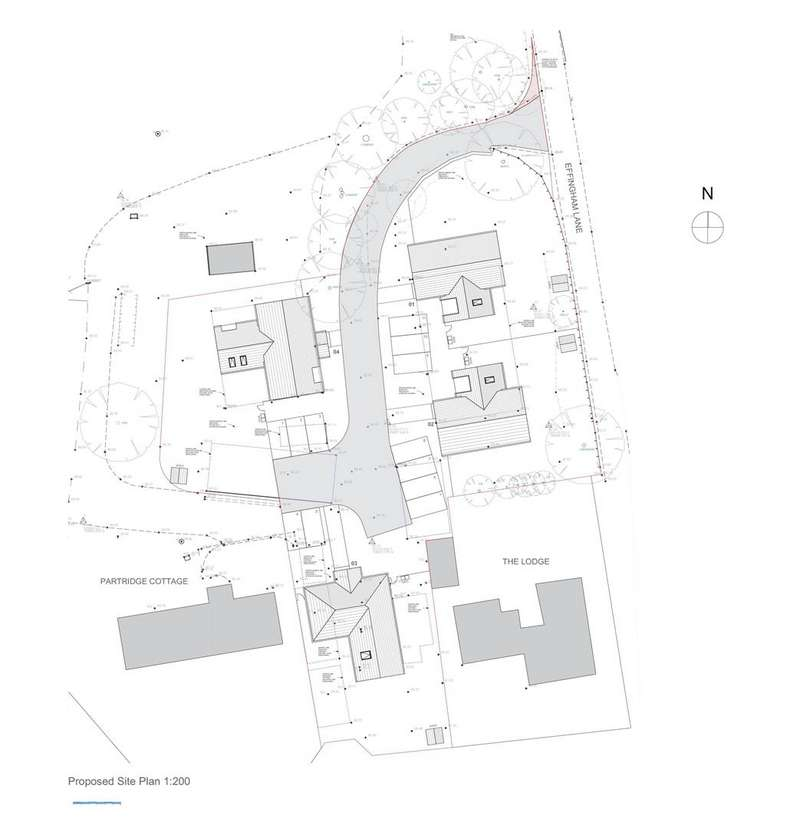 Land Commercial for sale in Effingham Lane, Copthorne