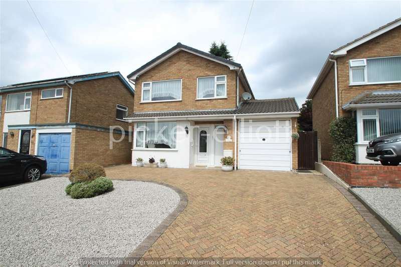 3 Bedrooms Detached House for sale in Seaforth Drive, Hinckley