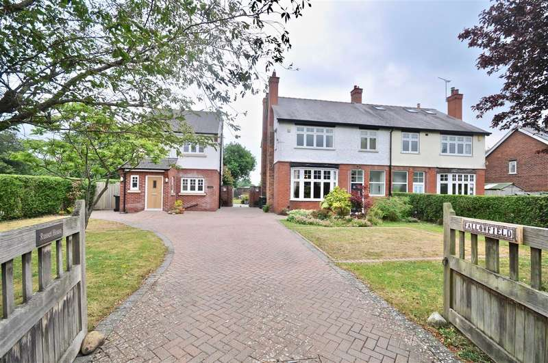 5 Bedrooms Detached House for sale in Fallowfield & Russet House, Long Lane, Saughall, Chester