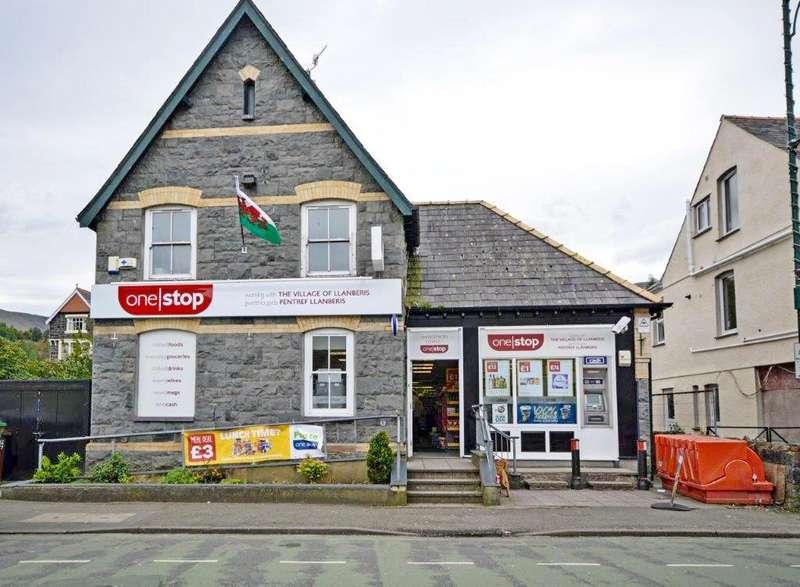 Retail Property (high Street) Commercial for sale in Padarn Road, Llanberis, Caernarfon, Gwynedd, LL55