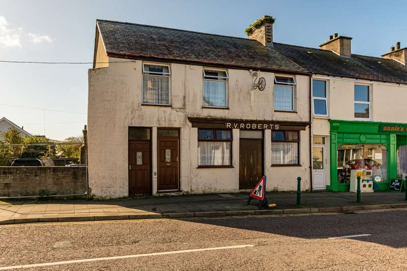 Retail Property (high Street) Commercial for sale in Snowdon Street, Penygroes, Caernarfon, LL54