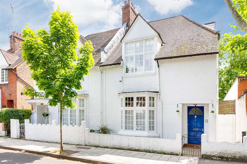 4 Bedrooms Semi Detached House for sale in Flanders Road, Chiswick, W4