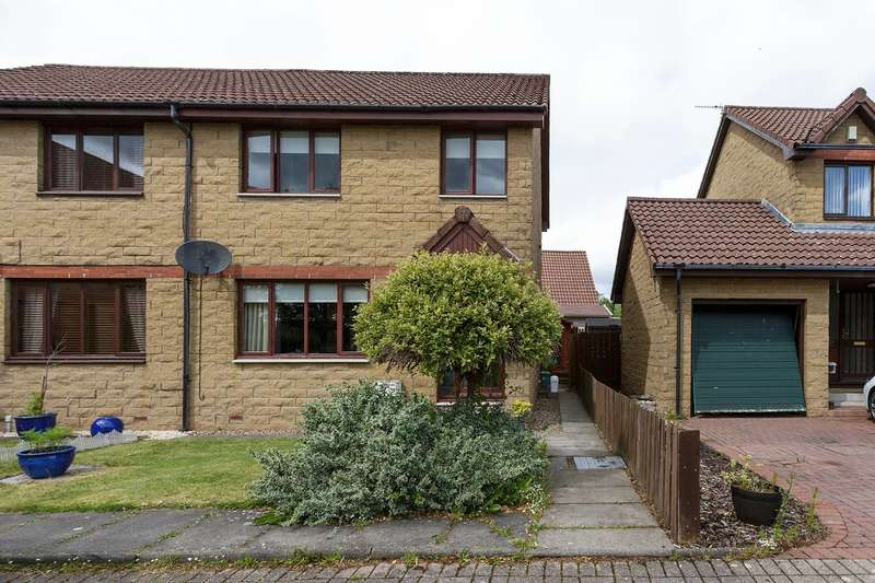 3 Bedrooms Semi Detached House for sale in Quoiters Court, Blackburn, West Lothian, EH47 7PP