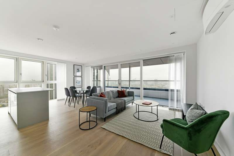 3 Bedrooms Flat for sale in Hurlock Heights, Elephant Park, Elephant & Castle SE17