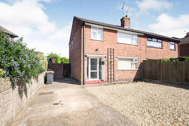 3 Bedrooms Semi Detached House for sale in Beacon Drive, Kirkby In Ashfield, NG17