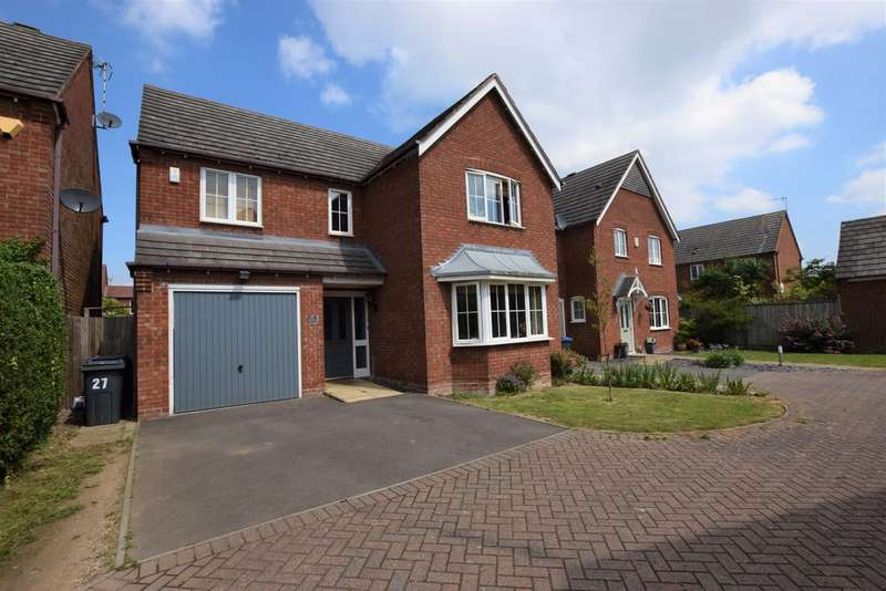 4 Bedrooms Detached House for sale in West Hyde , Hinckley LE10