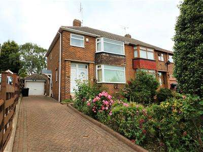 3 Bedrooms Semi Detached House for sale in Hall Crescent, Moorgate, Rotherham
