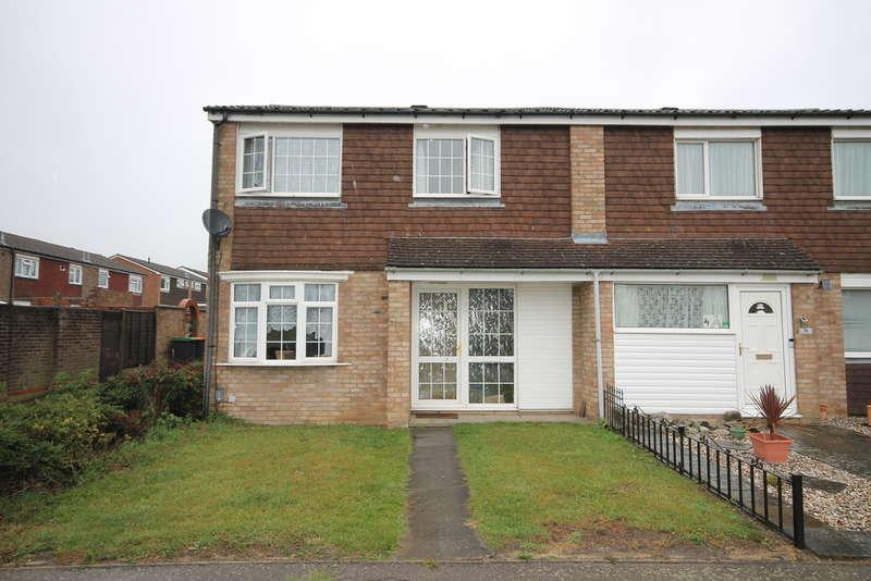 3 Bedrooms Semi Detached House for sale in Needwood Road, Goldington, MK41