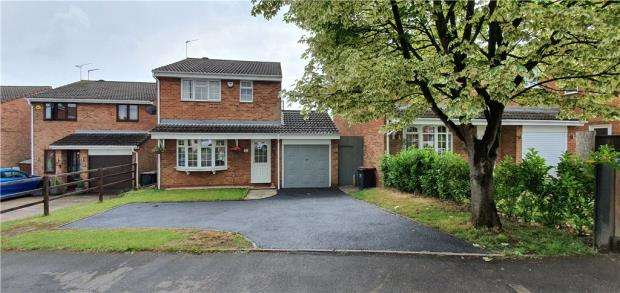 3 Bedrooms Detached House for sale in Chesterton Drive, Galley Common, Nuneaton, Warwickshire