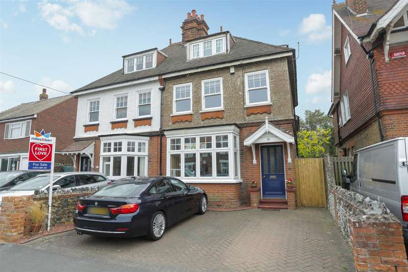 4 Bedrooms Semi Detached House for sale in Epple Bay Road, Birchington