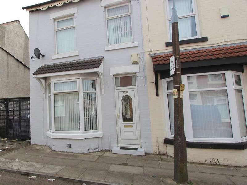 3 Bedrooms End Of Terrace House for rent in Munster Road, Liverpool, Merseyside. L13 5ST