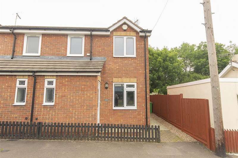 3 Bedrooms Semi Detached House for sale in Pilsley Road, Danesmoor, Chesterfield