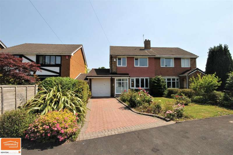 3 Bedrooms Semi Detached House for sale in Fishley Close, Little Bloxwich, WS3 3QA