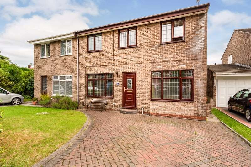 4 Bedrooms Semi Detached House for sale in Springvale Close, Ashton-under-Lyne, Greater Manchester, OL7
