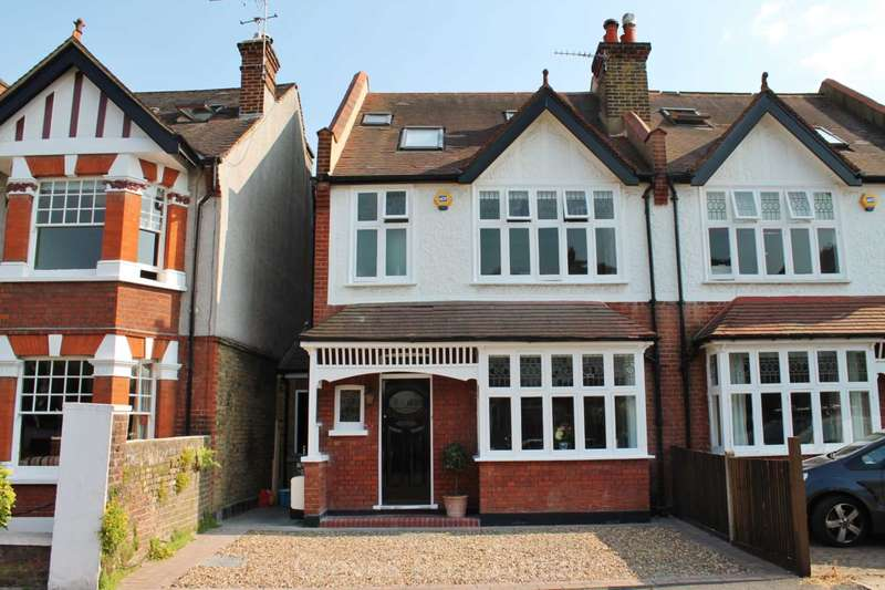 4 Bedrooms Semi Detached House for sale in Lime Grove, New Malden