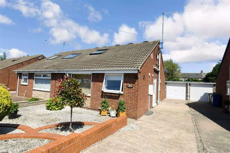 3 Bedrooms Semi Detached Bungalow for sale in Derwent Close, Cottingham, East Riding Of Yorkshire