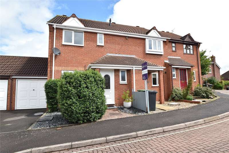 3 Bedrooms End Of Terrace House for sale in Blossom Close, Worcester, Worcestershire