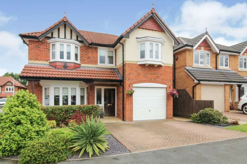 4 Bedrooms Detached House for sale in Black Horse Lane, Widnes, Cheshire, WA8