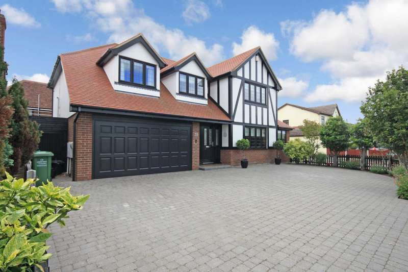 4 Bedrooms Detached House for sale in Wash Road, Noak Bridge