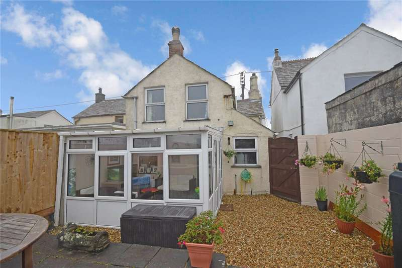 2 Bedrooms Semi Detached House for sale in High Street, Delabole, Cornwall, PL33