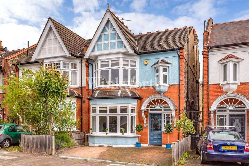 4 Bedrooms Semi Detached House for sale in Old Park Road, London, N13