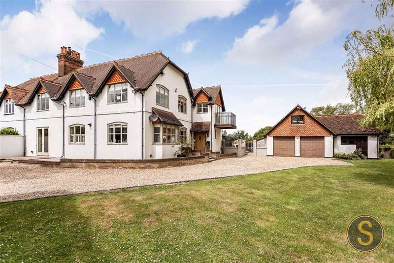 6 Bedrooms Semi Detached House for sale in Puttenham, Tring