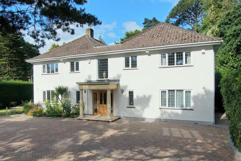 4 Bedrooms Detached House for sale in De Mauley Road, Canford Cliffs