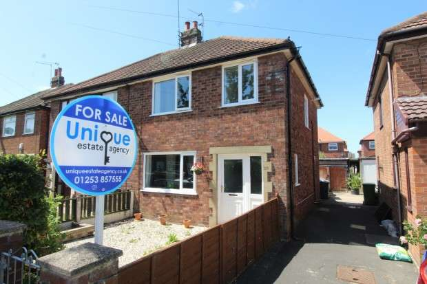 3 Bedrooms Semi Detached House for sale in Ascot Road, , FY5
