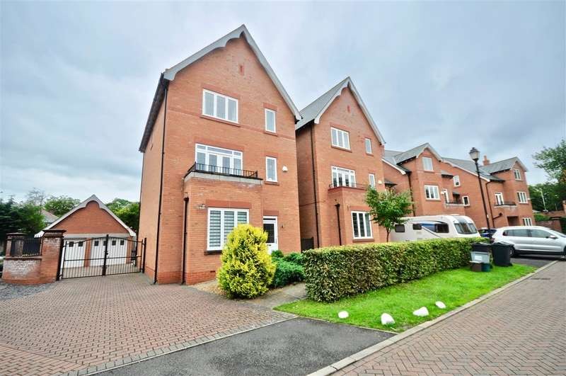 4 Bedrooms Detached House for sale in Gilwern Close, Off Abbots Park, Chester, Chester