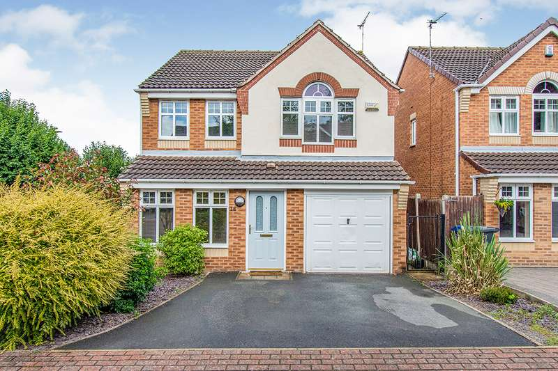 4 Bedrooms Detached House for sale in Somin Court, DN4