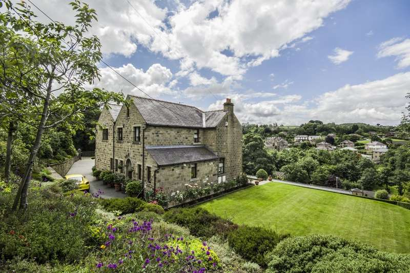 5 Bedrooms Detached House for sale in Coldhill Lane, New Mill, Holmfirth