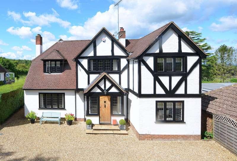 4 Bedrooms Detached House for sale in Chalk Lane, East Horsley, KT24