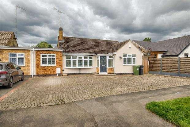 3 Bedrooms Semi Detached Bungalow for sale in Ashfield Road, Kenilworth