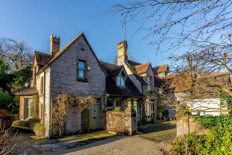 4 Bedrooms Detached House for sale in Vicarage Cottage, Butts View, Bakewell