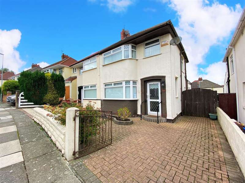 3 Bedrooms Semi Detached House for sale in Coronation Drive, Knotty Ash, Huyton, Liverpool