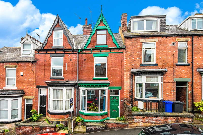 4 Bedrooms Terraced House for sale in Hunter House Road, Sharrowvale
