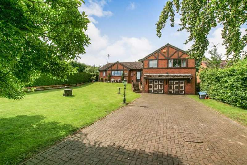 4 Bedrooms Detached House for sale in The Beeches, Hazel Court, Dronfield, Derbyshire