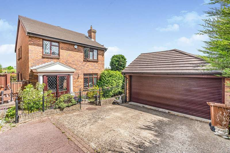 4 Bedrooms Detached House for sale in Thorndale Close, Chatham, Kent, ME5