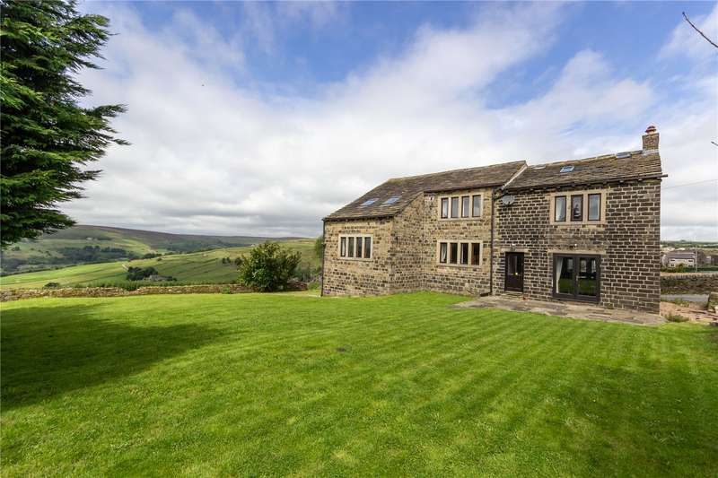 4 Bedrooms Detached House for sale in Wainstalls, HALIFAX, West Yorkshire, HX2