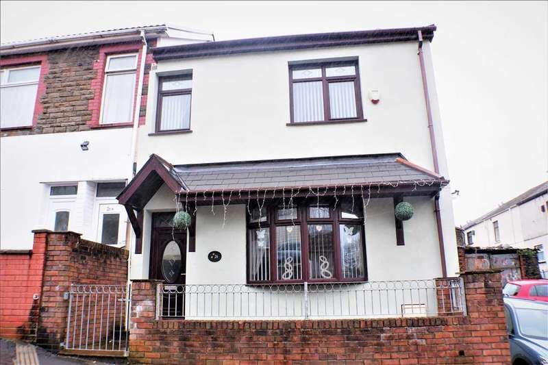 4 Bedrooms Semi Detached House for sale in Berw Road, Tonypandy