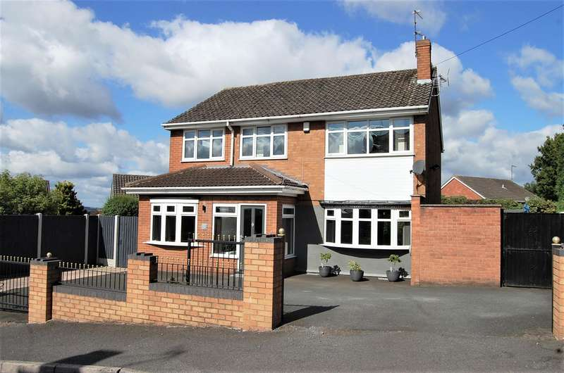 4 Bedrooms Detached House for sale in Musk Lane, Gornal, DY3