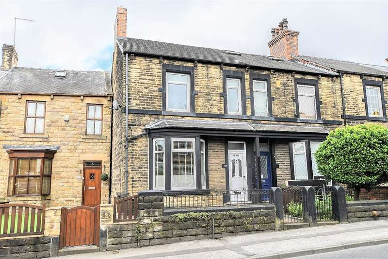 3 Bedrooms End Of Terrace House for sale in Summer Lane, Barnsley, S75 2AD