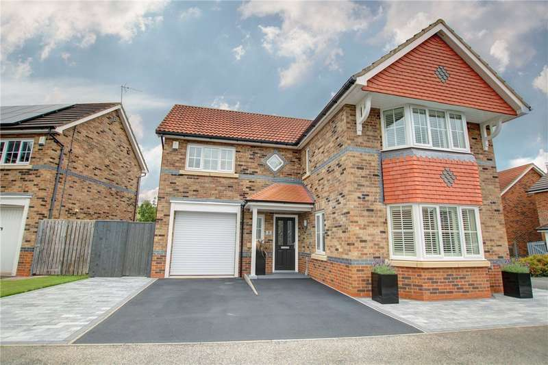 4 Bedrooms Detached House for sale in Village Gate, Howden Le Wear, Crook, DL15